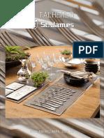 Catalogo Talheres St James 2015