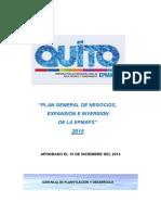 Plan de Negocios 2015 Epmaps Vf 0