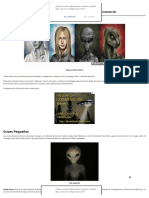Razas Extraterrestres Que Cooperan Con El Complejo Militar
