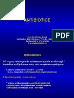 Curs 3 - Antibiotice VA 2015