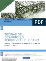 Teorias Del Desarrollo Territorial y Urbano