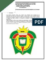 Símbolos de La Institucion Educativa Departamental de Topaipi