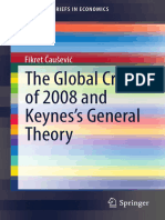 The Global Crisis of 2008 and Keynes's General Theory