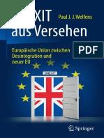 BREXIT Aus Versehen - Europäische Union Zwischen Desintegration Und Neuer EU (2016)