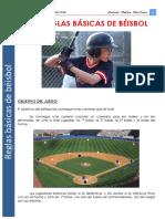 Reglas básicas para jugar softball