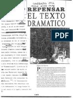 de MARINIS - Repensar El Texto Dramático
