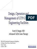 DesignOperationManagementofGTPGMPCellEngineeringFacilities