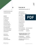 Plan director 2004-2015 Juliaca