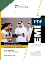 Emba Brochure - DUBAI