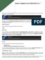 Sinergia - Programação Orientada a Objetos Com C# (Parte 5.1) – Polimorfismo