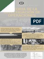 Historia de La Investigación de Operaciones (1)