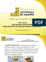 Ntc 4114 (Salud Ocupacional)