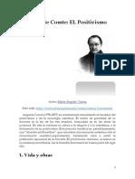 Auguste Comte - Positivismo