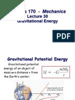 Gravitational Energy