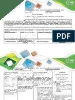 Guía Paso I – Generar Diagrama y Esquema Que Incluya Los Temas de Energías Convencionales y Construcciones