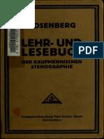 Lehrbuch Gabelsberger Kurzschrift