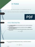 calculo ka