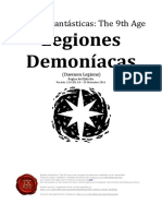 The-ninth Age Daemon Legions