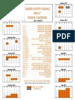 2016-17 revised makeup calendar 2nd day