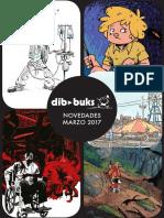 Novedades de Dibbuks para marzo de 2017