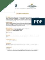 Alfabetización Digital 2009