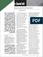 Rahasia Umur 40 Tahun-Ahmad Fatoni