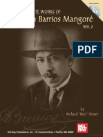 The Complete Works of Agustine Barrios Mangore Vol 2