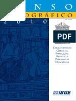 Censo IBGE 2010 Característica Da População Religião