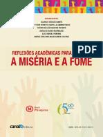 eBook - Reflexões Acadêmicas Para Superar a Miséria e a Fome