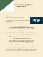 Draft Nolan Letter