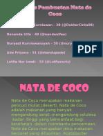 Proses Pembuatan Nata de Coco