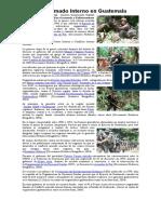 Conflicto Armado Interno en Guatemala