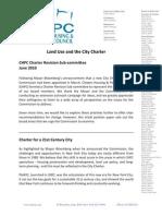 CHPC on City Charter