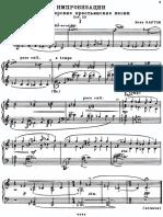 8 improvvisazioni op. 20