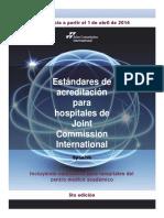 3. Manual de Acreditación JCI - 5ta Edicion