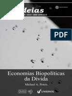 Economias Biopolíticas Da Divida