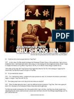 Wing Chun Teahouse Interview