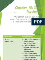 Chap 18 Social Psychology