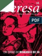 Revista Teresa - Dossiê romance de 30