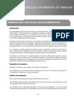 UNIDAD_6 Administración y Gestión Del Servicio Farmacéutico