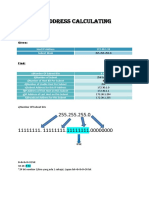 Ip Address Calculating. Mohamad Nazmirul Aiman Bin Mohamad Najib