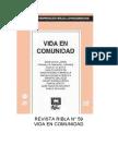 RIBLA 59, Vida y comunidad.pdf