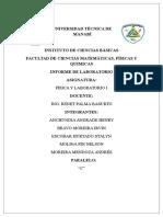 Informe 3 Tiro de Proyectil