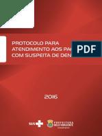 Dengue Protocolo PBH 2016
