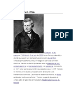Georg Simon Ohm y Michael Faraday