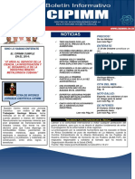 Boletin Informativo Cipimm No.9