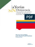 Mayorías sin democracia. Desequilibrio de poderes y Estado de derecho[1].pdf