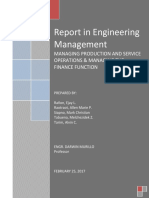 Compiled Report in Engineering Management