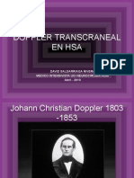 Doppler Transcraneal en Hsa