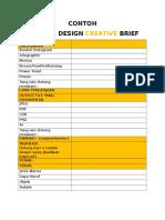 Graphic Design Creative Brief